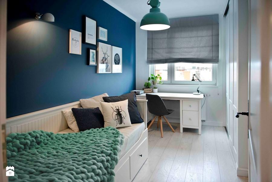 Wnetrze Mieszkania W Kolorze Granatowym Jak Podejsc Do Aranzacji